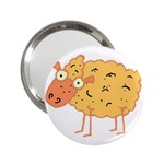 Funky sheep 2.25  Handbag Mirror
