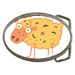 Funky sheep Belt Buckle