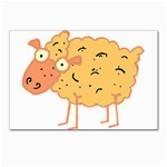Funky sheep Postcard 4 x 6  (Pkg of 10)