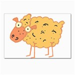 Funky sheep Postcards 5  x 7  (Pkg of 10)