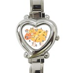 Funky sheep Heart Italian Charm Watch