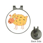 Funky sheep Golf Ball Marker Hat Clip
