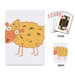 Funky sheep Playing Cards Single Design