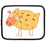 Funky sheep Netbook Case (Large)
