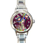 Design 10 Round Italian Charm Watch