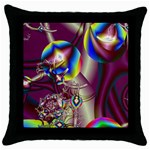 Design 10 Throw Pillow Case (Black)