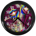 Design 10 Wall Clock (Black)