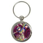 Design 10 Key Chain (Round)
