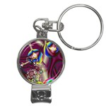 Design 10 Nail Clippers Key Chain