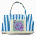 Foal 2 Striped Blue Tote Bag