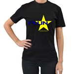 PWN Star Women s Black T-Shirt