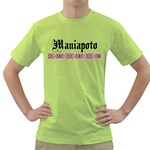 Maniapoto with Rautawa Green T-Shirt