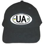 Ukraine Euro Oval - UA Black Cap