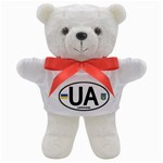 Ukraine Euro Oval - UA Teddy Bear