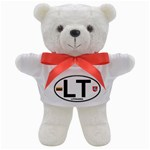 LT - Lithuania Euro Oval Teddy Bear