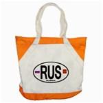 RUS - Russia Euro Oval Accent Tote Bag