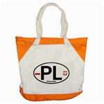 Poland Euro Oval - PL Accent Tote Bag
