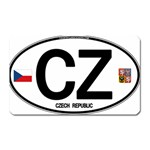 CZ - Czech Republic Magnet (Rectangular)