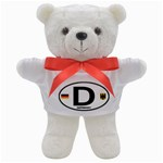 D - Germany Euro Oval Teddy Bear