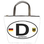 D - Germany Euro Oval Bucket Bag