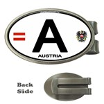 A - Austria Euro Oval Money Clip (Oval)