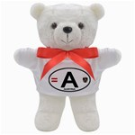 A - Austria Euro Oval Teddy Bear