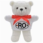 RO - Romania Euro Oval Teddy Bear