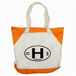 H - Hungary Euro Oval Accent Tote Bag