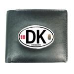 DK - Denmark Euro Oval Wallet