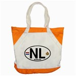 NL - Netherlands Euro Oval Accent Tote Bag