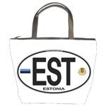 EST - Estonia Euro Oval Bucket Bag