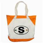 S - Sweden Euro Oval Accent Tote Bag