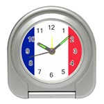 French Flag Travel Alarm Clock
