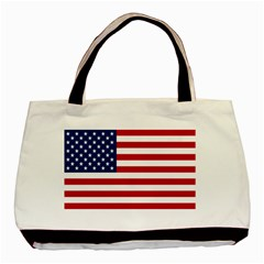 American Flag Classic Tote Bag (Two Sides) from intlgiftshop.com Front