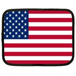 American Flag Netbook Case (Large)