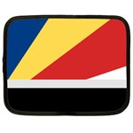 Seychellois Flag Netbook Case (Large)