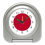 Japanese Flag Travel Alarm Clock