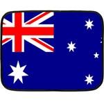 Australian Flag Mini Fleece Blanket(Two Sides)
