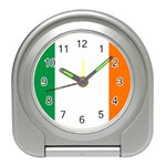 Irish Flag Travel Alarm Clock