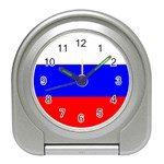 Russian Flag Travel Alarm Clock