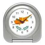 Cypriot Flag Travel Alarm Clock