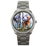 Deer Hunter Sport Metal Watch