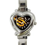 butterfly-pop-art-print-11 Heart Italian Charm Watch