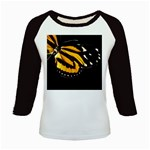 butterfly-pop-art-print-11 Kids Baseball Jersey