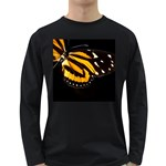 butterfly-pop-art-print-11 Long Sleeve Dark T-Shirt