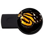 butterfly-pop-art-print-11 USB Flash Drive Round (4 GB)