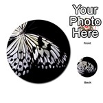 butterfly-pop-art-print-13 Multi-purpose Cards (Round)