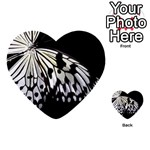 butterfly-pop-art-print-13 Multi-purpose Cards (Heart)
