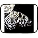 butterfly-pop-art-print-13 Mini Fleece Blanket(Two Sides)