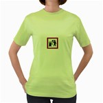 180771786_c50a8db28f Women s Green T-Shirt